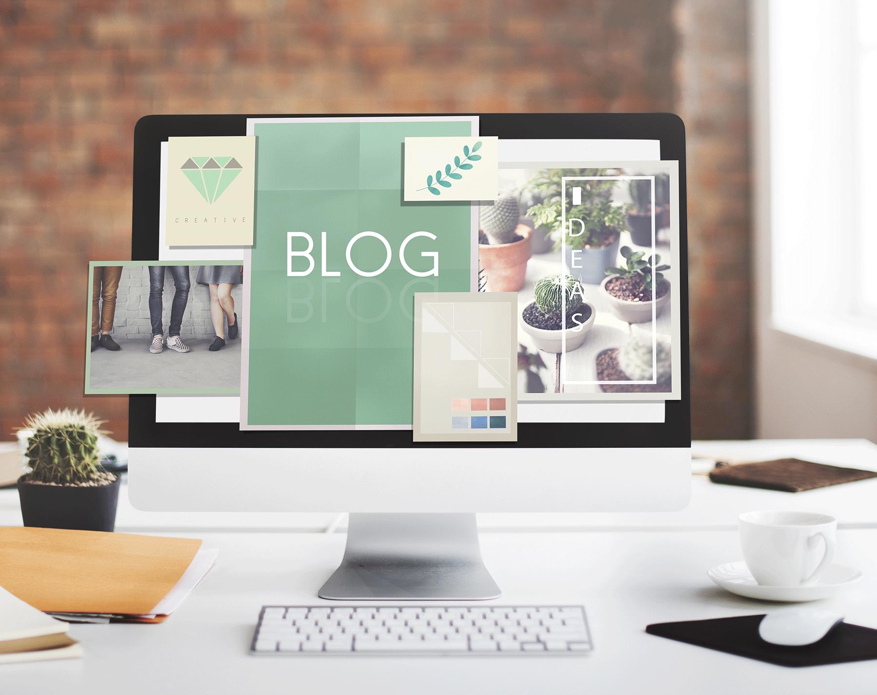 Bedriftsblogg forsidebilde