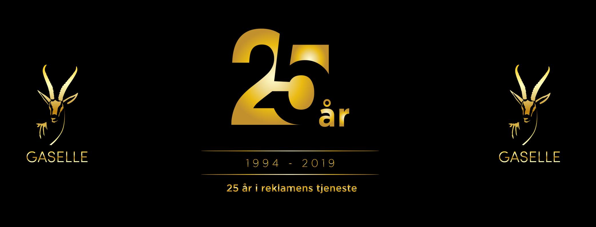 25 år i reklamens tjeneste