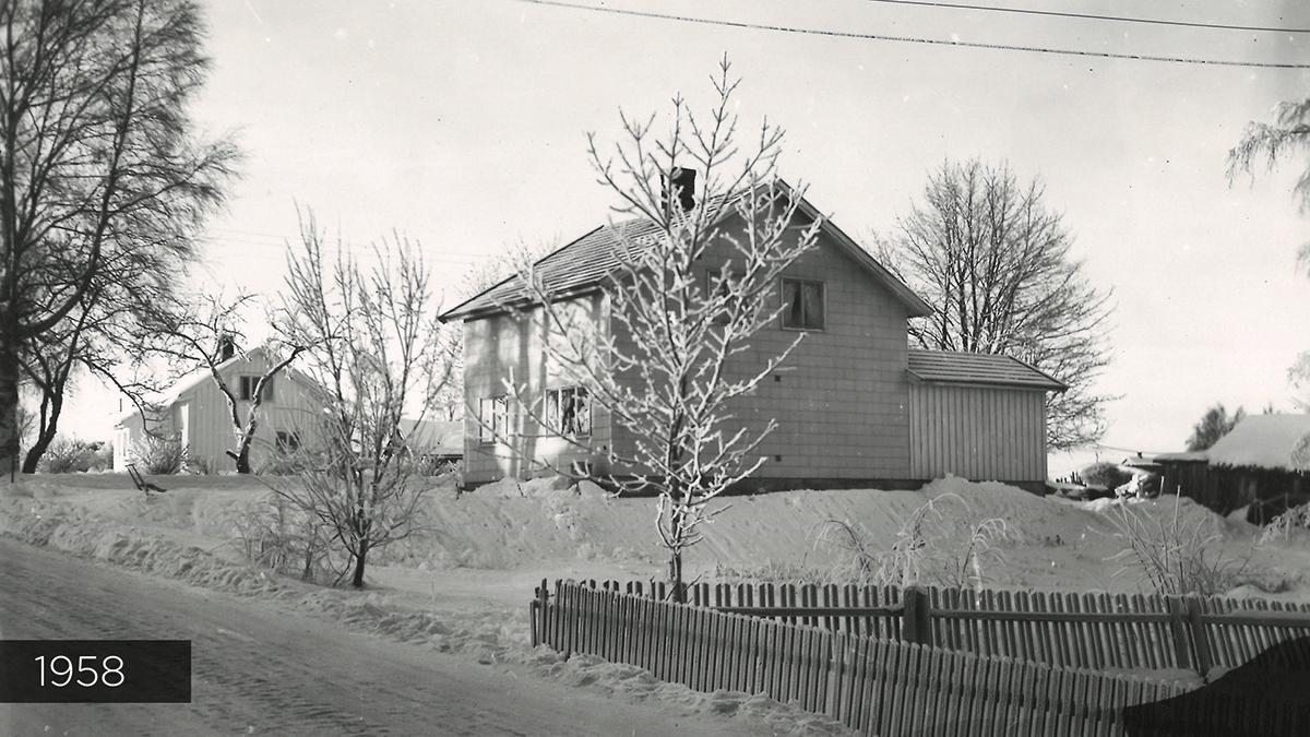 Reklame-Husets fasade i 1958