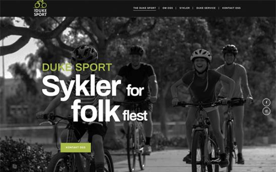 Forside Duke Sport