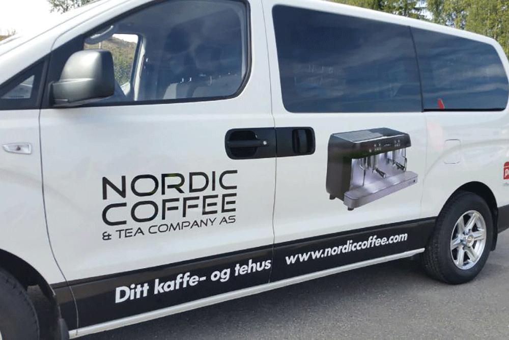 Enkel bildekor for Nordic Coffee