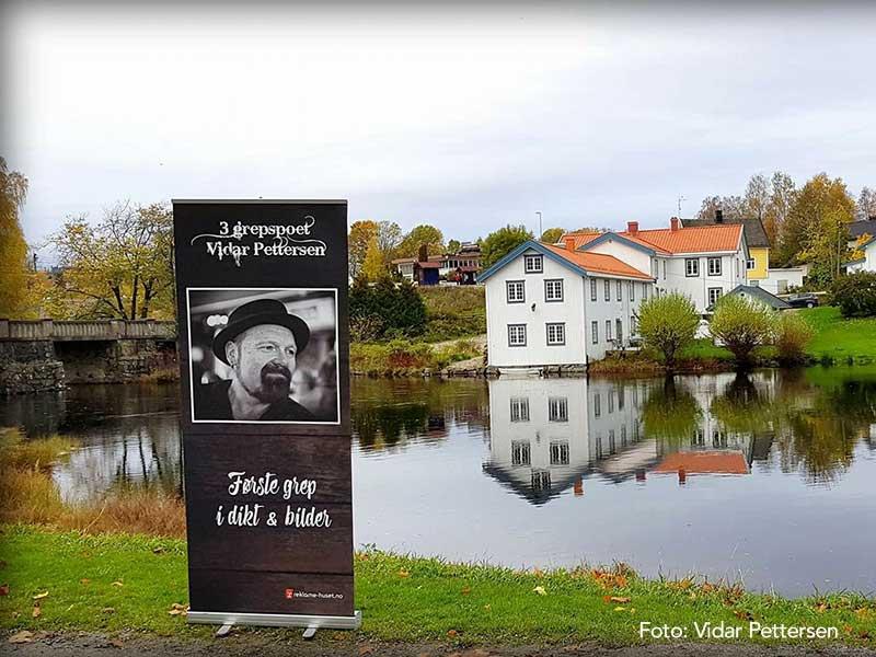 Rollup til Vidar Pettersen ved Eidsvollbygningen