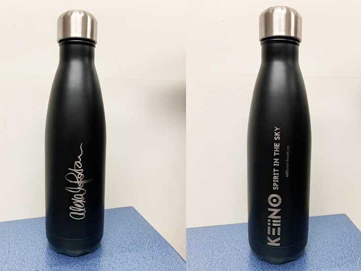 Termoflaske med logotrykk