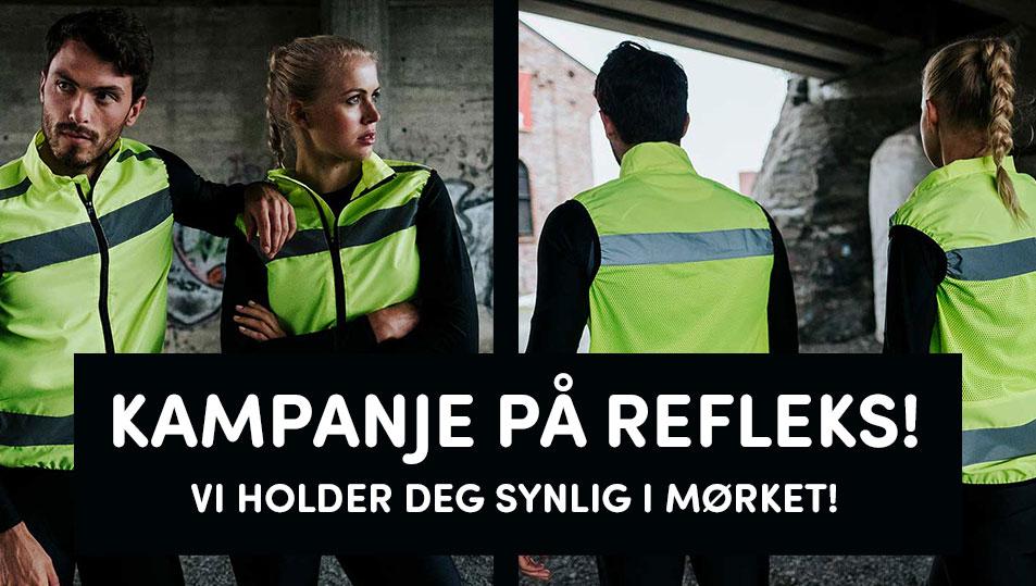 Sliderbilde: Kampanje på refleks